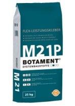 Elastingi balti plytelių klijai BOTAMENT® M 21P
