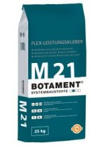 Elastingi plytelių klijai BOTAMENT® M 21